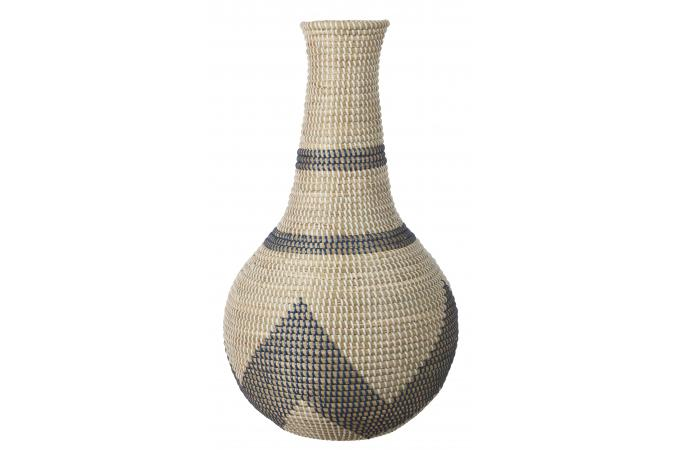 Bouteille Deco Jonc De Mer Muncen Vase Pas Cher