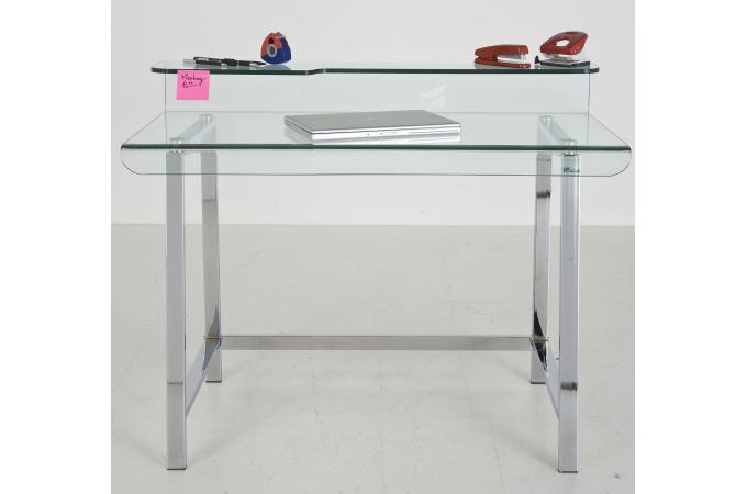 Bureau en verre design lupo