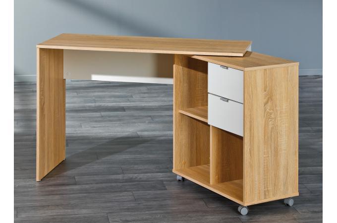 Bureau modulable avec espaces de rangement bois lucille bureau