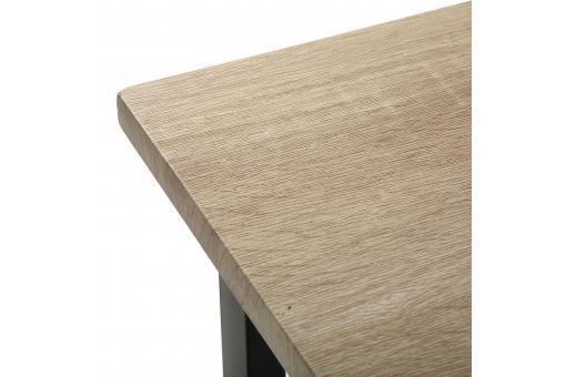 Bureau pliable industriel bois et m tal moneva bureau for Bureau industriel bois et metal