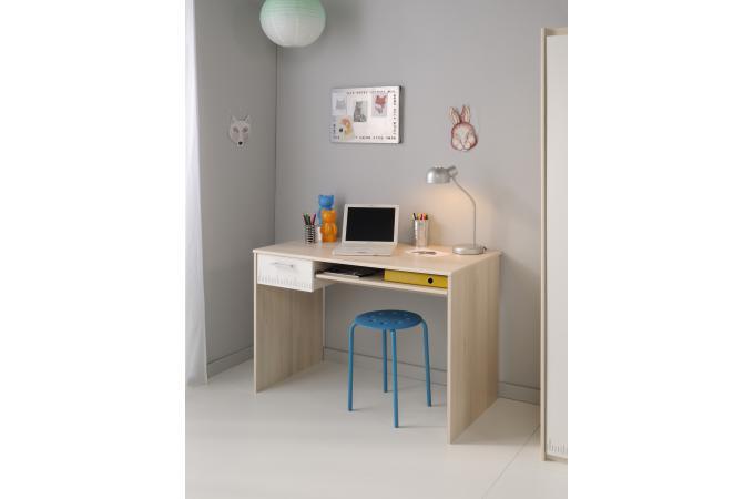Bureau pour chambre enfant acacia clair nolan chambre - Bureau enfant pas cher ...