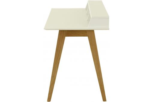 Bureau Scandinave 3 Niches Blanc LAURY