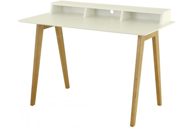 Bureau scandinave 3 niches blanc laury bureau pas cher