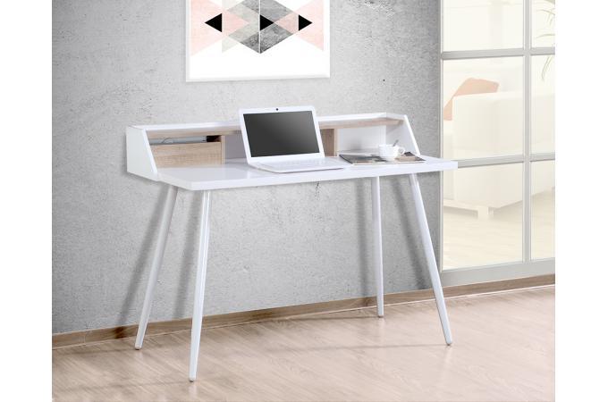 Bureau scandinave blanc froden bureau pas cher