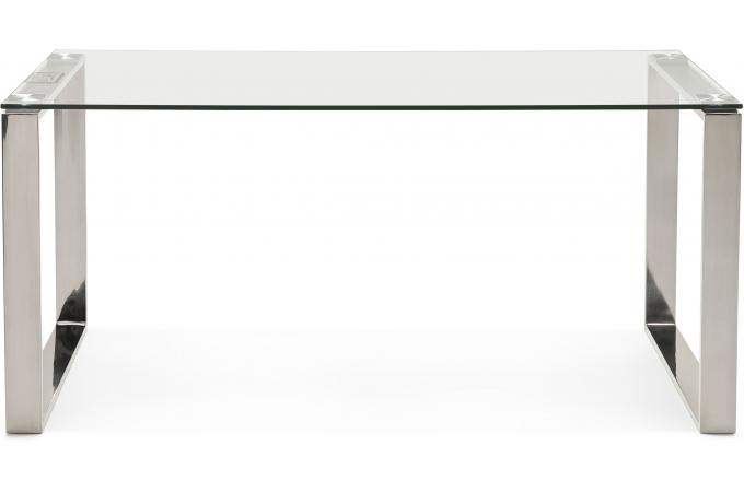 bureau verre m tal 80x160 wotton bureau pas cher. Black Bedroom Furniture Sets. Home Design Ideas