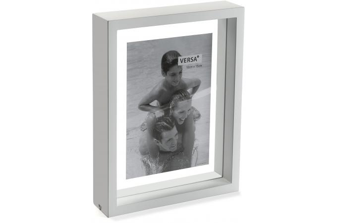 cadre photo en bois blanc 21 x 26 cm cadre photo pas cher. Black Bedroom Furniture Sets. Home Design Ideas