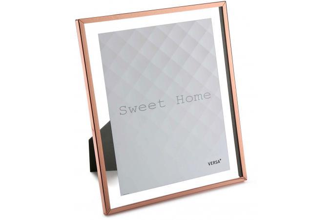 cadre photo cuivre glass 23 2 x 33 3 cm cadre photo pas cher. Black Bedroom Furniture Sets. Home Design Ideas