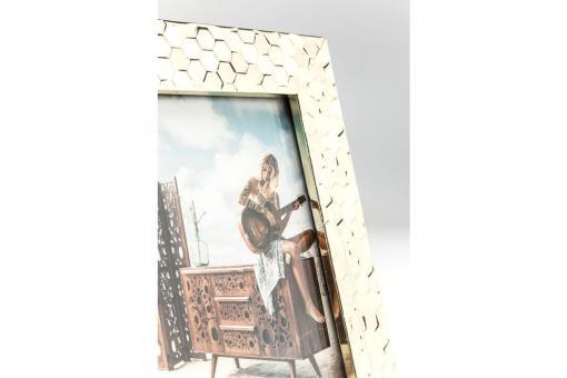 cadre photo kare design dor 13x18cm eleganza cadre. Black Bedroom Furniture Sets. Home Design Ideas