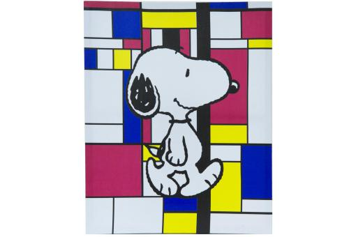 Cadre Toile Snoopy 50X40Cm Graphic