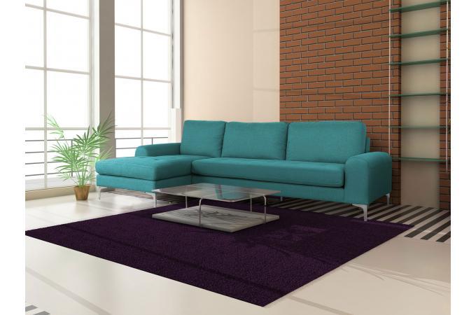 canap d 39 angle droit tissu bleu dysart canap d 39 angle pas cher. Black Bedroom Furniture Sets. Home Design Ideas