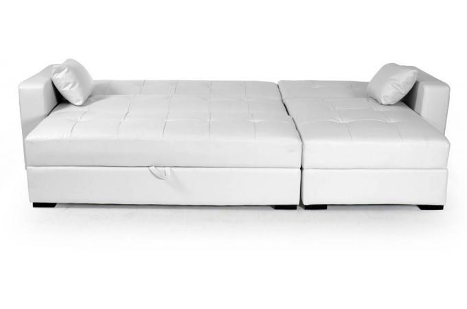 canap d 39 angle r versible et convertible blanc love canap d 39 angle pas cher. Black Bedroom Furniture Sets. Home Design Ideas