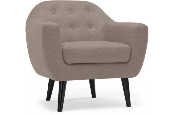 canap scandinave 2 places 2 fauteuils fidelio tissu taupe canap 2 places pas cher. Black Bedroom Furniture Sets. Home Design Ideas