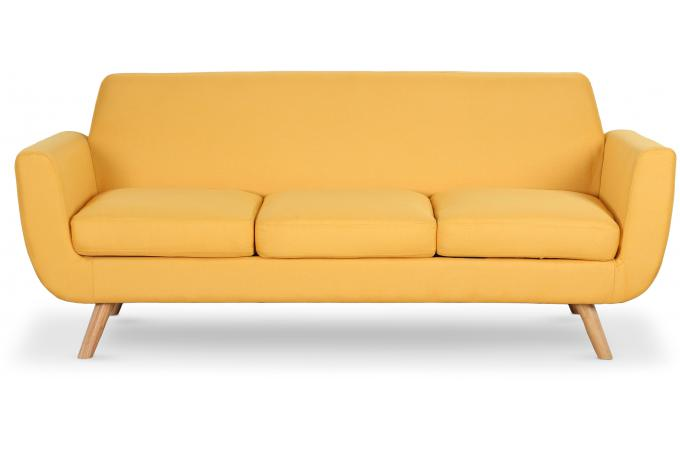 canap scandinave 3 places tissu jaune telia canap 3 places et plus pas cher. Black Bedroom Furniture Sets. Home Design Ideas