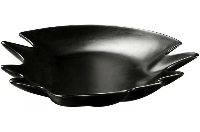 Centre de table design noir corbeille plateau pas cher - Centre de table design ...