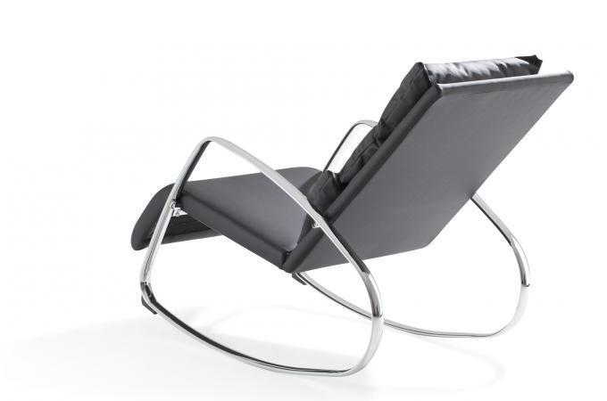 Chaise Design Bascule Beautiful Promo Rocking Chair Chaise Design - Fauteuil bascule design