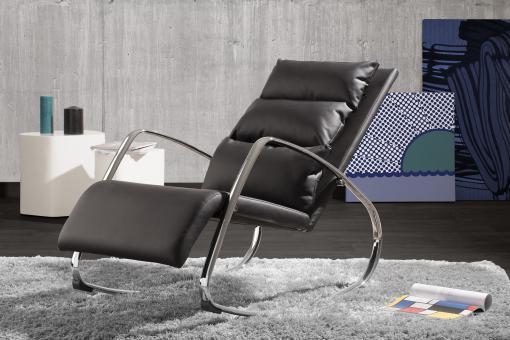 chaise bascule design noir luxe fauteuil design pas cher. Black Bedroom Furniture Sets. Home Design Ideas