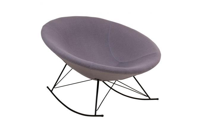 Fauteuil a bascule grise chill fauteuil design pas cher - Fauteuil a bascule pas cher ...