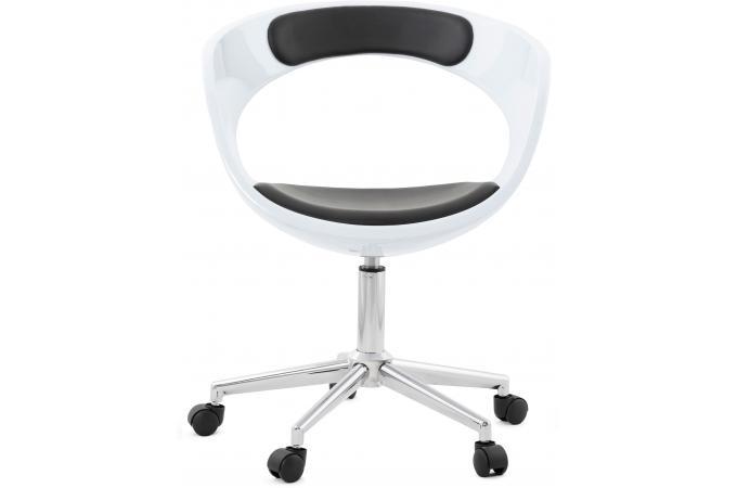 chaise de bureau blanche pivotante aussi chaise design pas cher. Black Bedroom Furniture Sets. Home Design Ideas