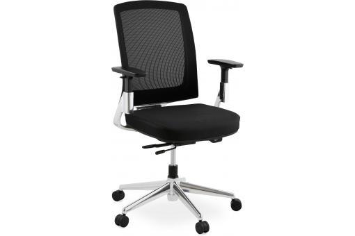 Chaise de bureau noire cm belia bureau pas cher