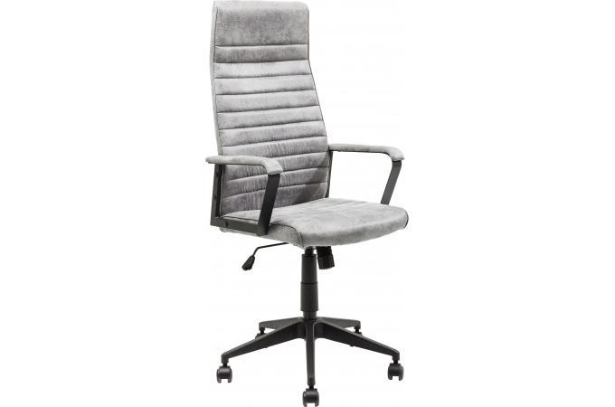 Chaise De Bureau Pivotante Kare Design Gris LABORA Fauteuil