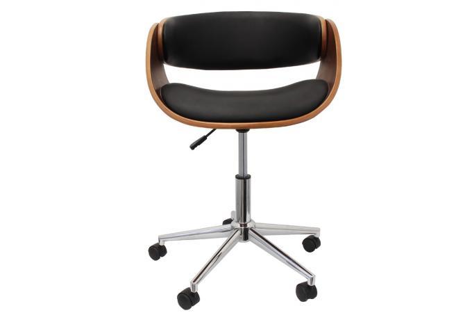 Fauteuil Chaise De Bureau Noir
