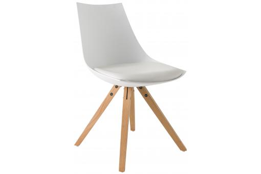 Chaise Scandinave Blanche TURIN