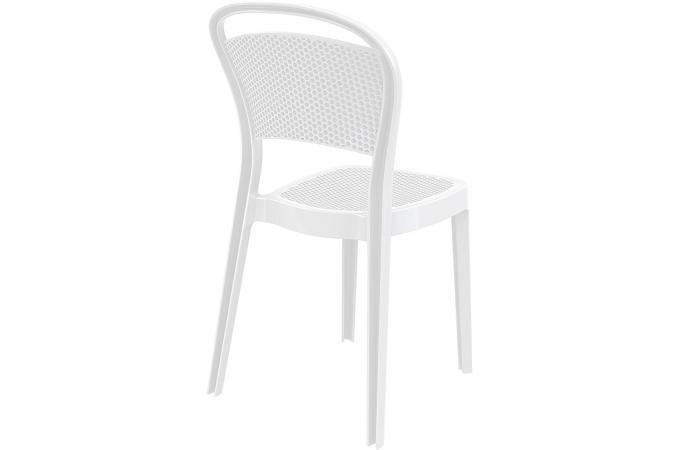 Chaise blanche laquee maison design - Chaise design blanche pas cher ...