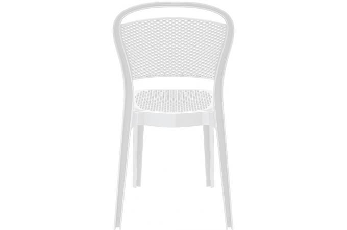 Chaise design blanche laqu e biz chaise design pas cher - Chaise laquee blanche ...