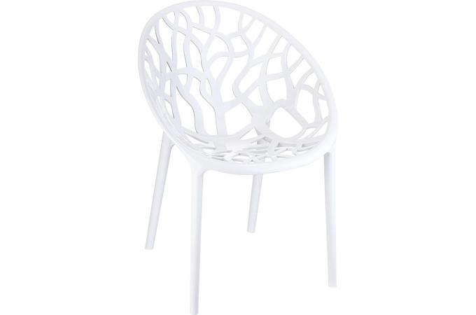 Chaise Design Blanche Laquee CINNAMON