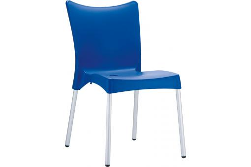 Chaise design Bleu JULIE
