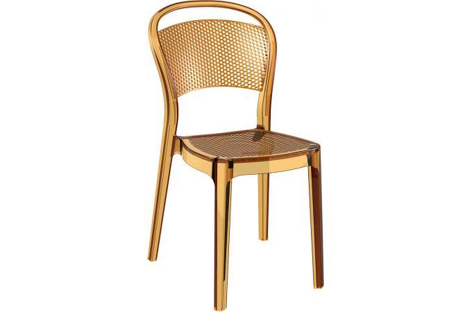 Chaise design jaune transparent biz chaise design pas cher for Chaise jaune design