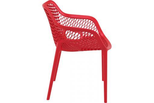 chaise design rouge aeria chaise design pas cher. Black Bedroom Furniture Sets. Home Design Ideas