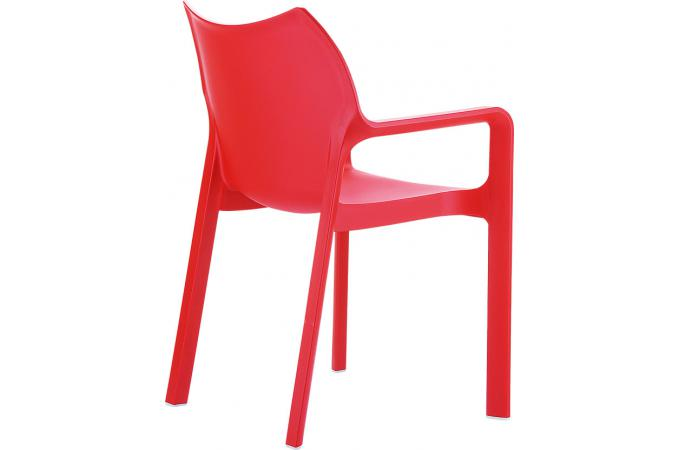 Chaise design rouge divina chaise design pas cher for Chaise design rouge