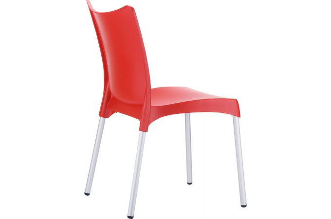 Chaise design rouge julie chaise design pas cher for Chaise design rouge