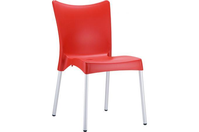 chaise design rouge julie chaise design pas cher. Black Bedroom Furniture Sets. Home Design Ideas