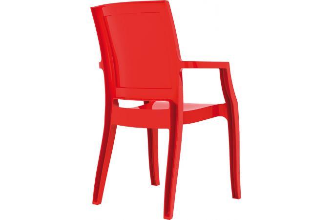 chaise design rouge laqu e allia chaise design pas cher. Black Bedroom Furniture Sets. Home Design Ideas