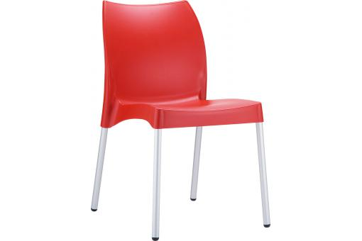 Chaise design Rouge MARTHA