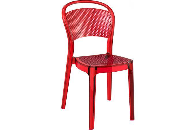 chaise design rouge transparent biz chaise design pas cher. Black Bedroom Furniture Sets. Home Design Ideas