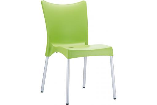 Chaise design verte clair JULIE