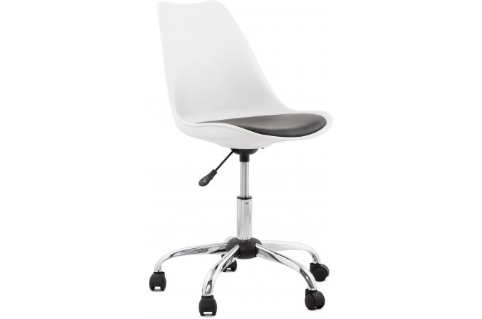 chaise design blanche pivotante depp chaise design pas cher. Black Bedroom Furniture Sets. Home Design Ideas