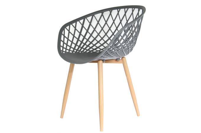 chaise design grise tonus chaise design pas cher. Black Bedroom Furniture Sets. Home Design Ideas