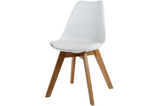 Chaise Design Scandinave Blanche Latvia