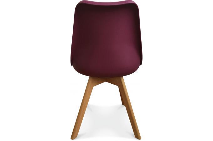 chaise design style scandinave bordeaux wine esben chaise design pas cher. Black Bedroom Furniture Sets. Home Design Ideas