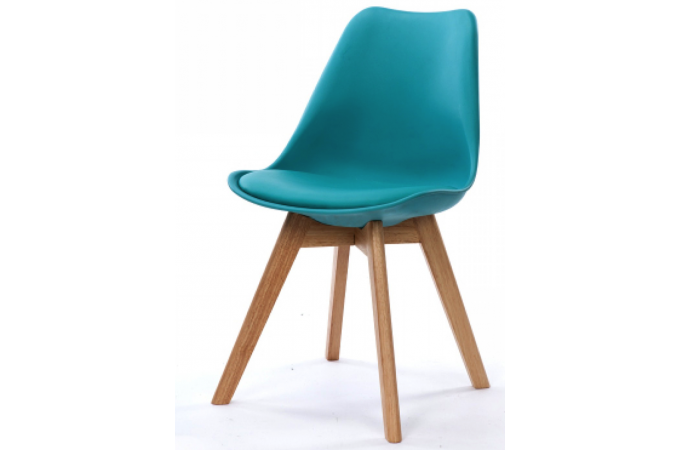 Chaise design style scandinave turquoise esben chaise - Chaise style scandinave pas cher ...