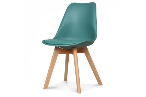 Chaise Design Style Scandinave Vert Pin ESBEN - Chaise design