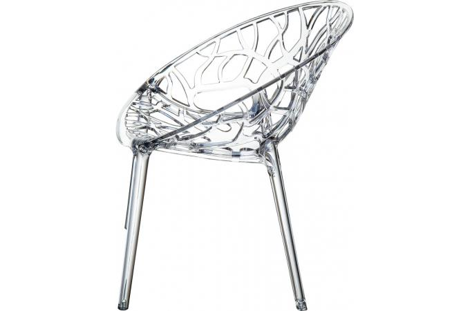 Chaise Design Transparente CINNAMON