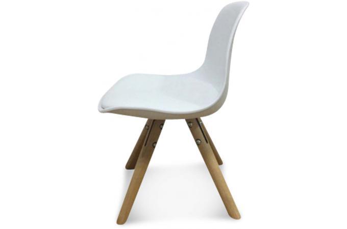 chaise enfant mini scandinave blanche esbeno chaise design pas cher. Black Bedroom Furniture Sets. Home Design Ideas
