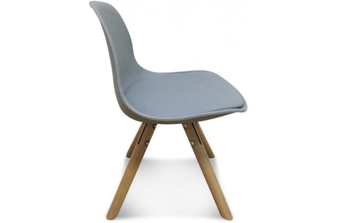 chaise enfant mini scandinave grise esbeno chaise design pas cher. Black Bedroom Furniture Sets. Home Design Ideas