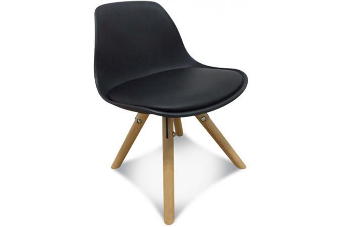chaise enfant mini scandinave noire esbeno chaise et fauteuil enfant pas cher. Black Bedroom Furniture Sets. Home Design Ideas