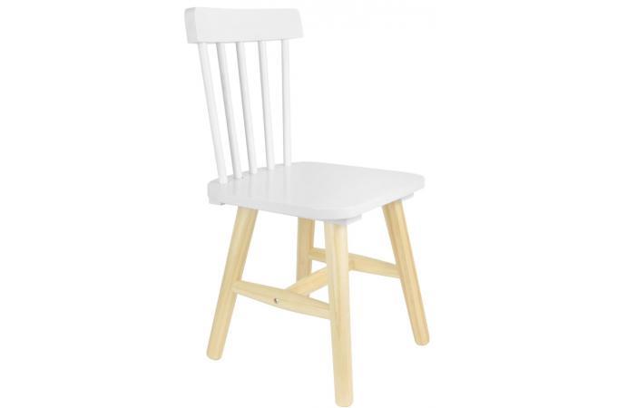 chaise enfant scandinave blanc kapla chambre enfant b b pas cher. Black Bedroom Furniture Sets. Home Design Ideas